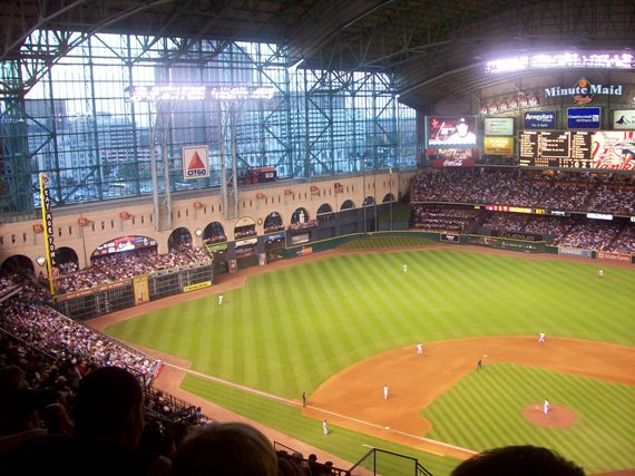 Minute Maid Park has the most home run reviews.