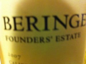 Beringer Founders' Estate Cabernet