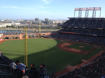 View from Above the Foul Pole
