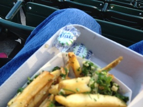 Garlic Fries Come with Mints (How Civilized)