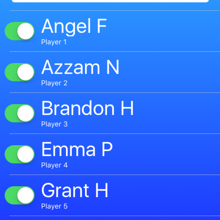 You can toggle off the names of absent students without having to delete and re-add their names.