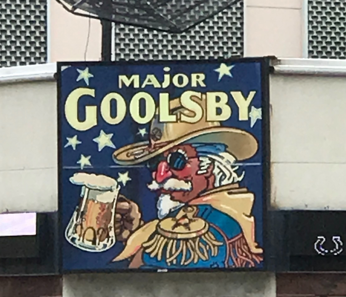 A picture of Major Goolsby, I guess